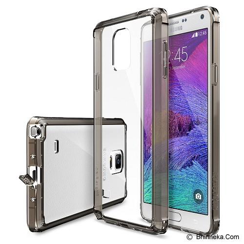 REARTH Ringke Fusion Galaxy Note 4 [RFSG014] - Smoke Black - Casing Handphone / Case